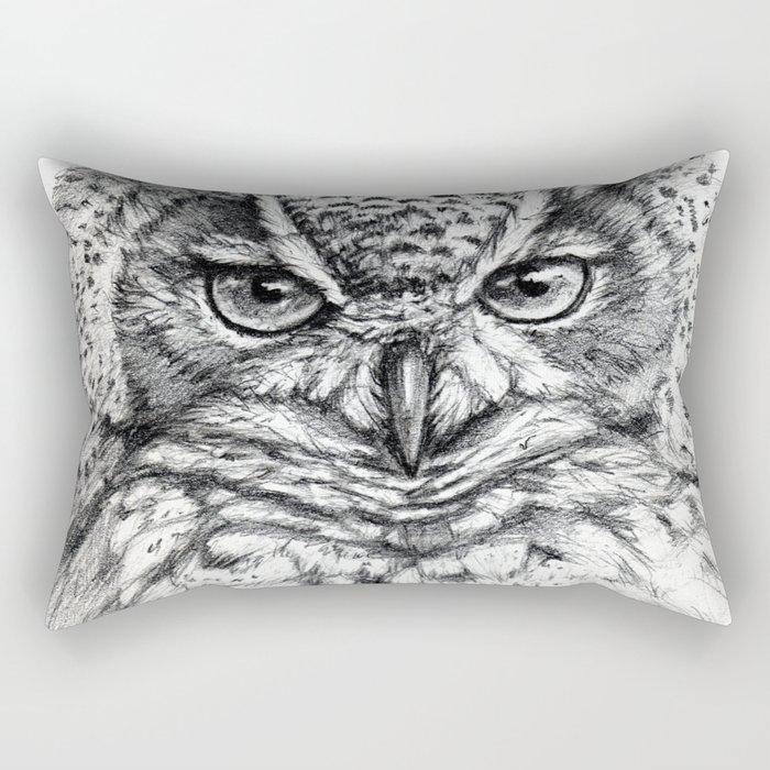 Owl SK136 Rectangular Pillow