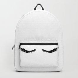 Pretty Glam Eyelashes Backpack