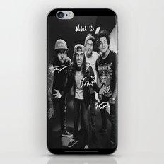 Pierce The Veil - Vic Fuentes, Mike Fuentes, Tony Perry & Jaime Preciado iPhone & iPod Skin