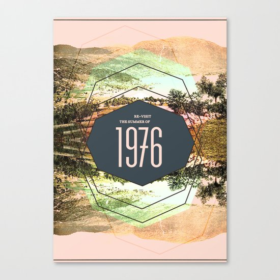 Summer of 1976 Canvas Print