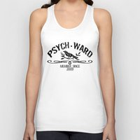 psych Tank Tops featuring Psych Ward Member by ImpART by Torg