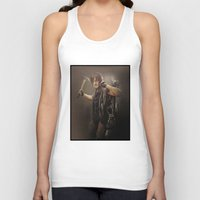 daryl dixon Tank Tops featuring Daryl Dixon - TWD by Annabelle Pickering