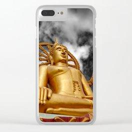Big Buddha Thailand Clear iPhone Case
