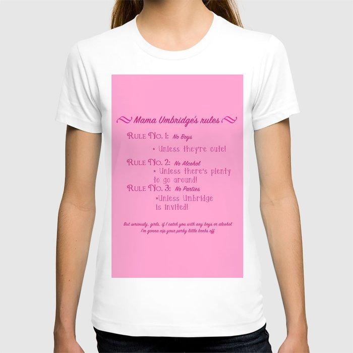 Mama Umbridge's Rules T-shirt
