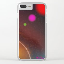 The Galaxy Line Up Clear iPhone Case
