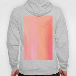 Adrenaline Rush Subsiding: Red Abstract Oil Painting with Streaks and Lines Hoody