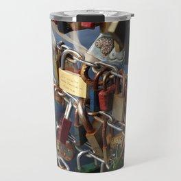 Love padlocks Travel Mug