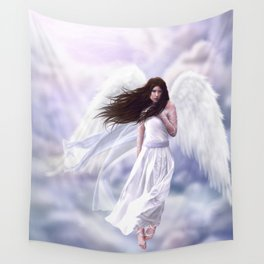 Some Clouds Have Wings Wall Tapestry