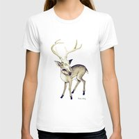 bambi T-shirts featuring Bambi by Emilie Steele