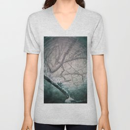 Spider Tree Unisex V-Neck