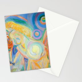 """Robert Delaunay """"Femme nue lisant (Nude Woman Reading)"""" Stationery Cards"""