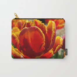 Parrot Tulips Carry-All Pouch