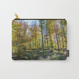 Colorful French forest Carry-All Pouch