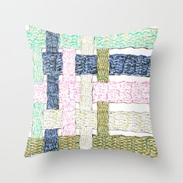 Whimsy Weave Throw Pillow