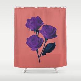 Les Fleurs du Mal Shower Curtain