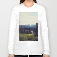 ashton irwin Long Sleeve T-shirts featuring Lake Irwin by Teal Thomsen Photography
