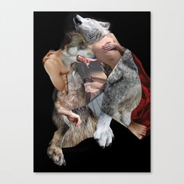The Company of Wolves Canvas Print