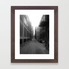 Alley #1 Framed Art Print