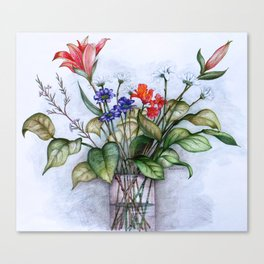 The Lilies Canvas Print