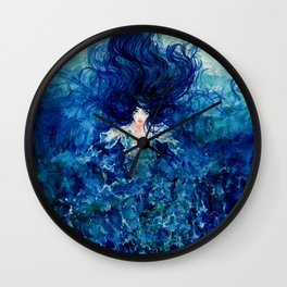 Sky From The Sea Wall Clock