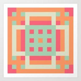 Candy Pastel Art Print