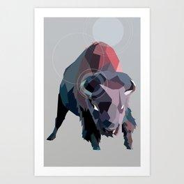 Buffs Art Print
