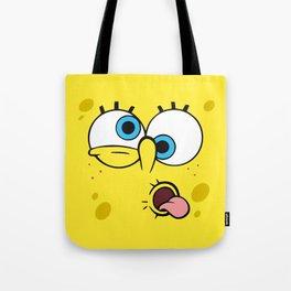 Spongebob Crazy Face Tote Bag