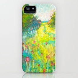 wildflowers (here today) iPhone Case