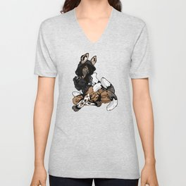 Wild Dog Jasiri Unisex V-Neck
