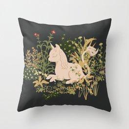 The Cutest Unicorn Throw Pillow