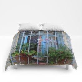 Blue Window  Comforters