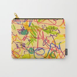 squiggletown twombly Carry-All Pouch