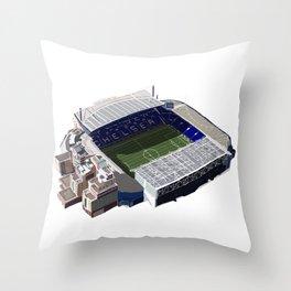 Stamford Bridge Stadium Throw Pillow