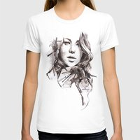 jennifer lawrence T-shirts featuring Jennifer Lawrence by dariemkova