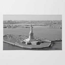 Liberty Island Photograph Rug