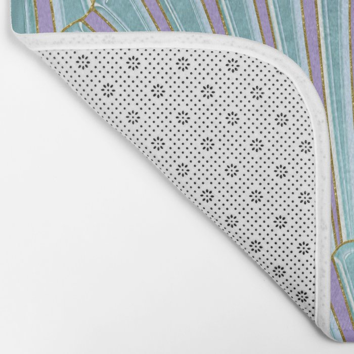 INTO THE DEEP (abstract pattern) Bath Mat