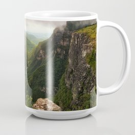 Canyon of Waterfalls Coffee Mug