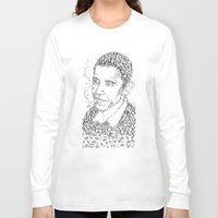 obama Long Sleeve T-shirts featuring obama times by Vin Zzep