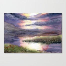 Intense Sky Canvas Print