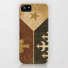 Acadian Flag Slim Case iPhone (5, 5s)