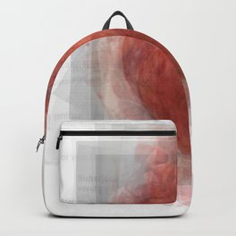 Human Heart Overlay Backpack