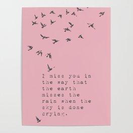 I miss you - Van Vuren Collection Poster