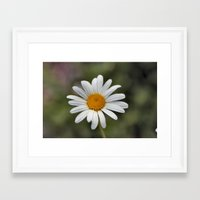 lonely Framed Art Prints featuring Lonely by IowaShots