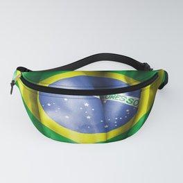 Brazil Flag Fanny Pack
