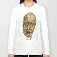 allyson johnson Long Sleeve T-shirts featuring Wilko Johnson by Paul Nelson-Esch Art