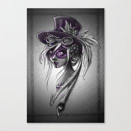Violet ! Canvas Print