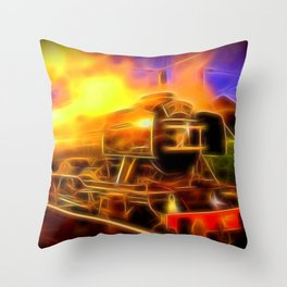 The Flying Scotsman Throw Pillow