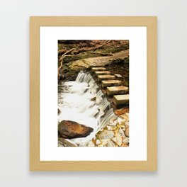 Such a Rush Framed Art Print