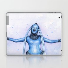 Diva Plavalaguna | Fifth Element Watercolor Art Laptop & iPad Skin