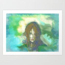 Smoke and Dreams Art Print